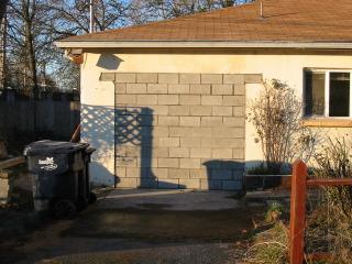 Garage Door Conversion matthew g hunter--garage conversion